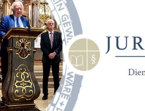 Rückblick auf die Juristenmesse 2021 mit Weihbischof Turnovszky